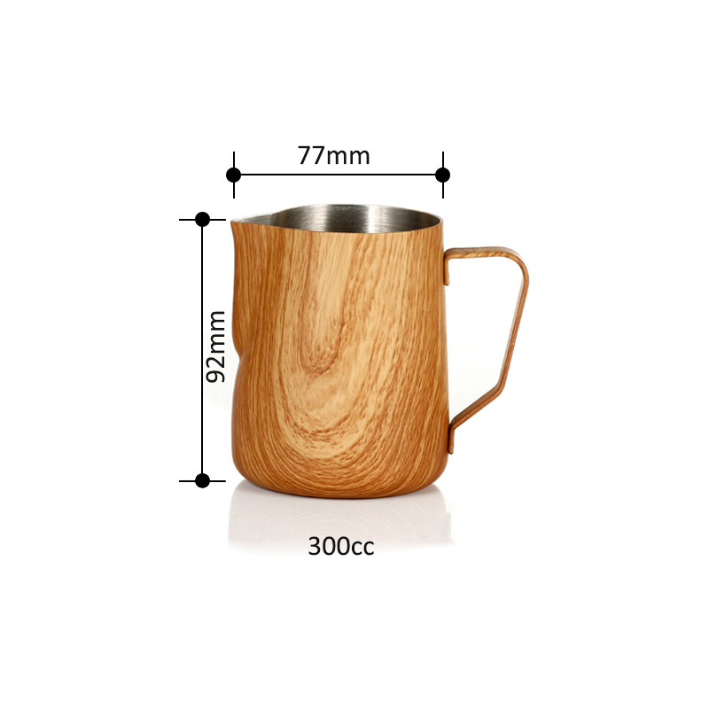 350ml Milk frothing Jug Espresso Coffee Pitcher Barista Craft Coffee Latte 304 Stainless Steel Milk Frothing Jug Pitcher