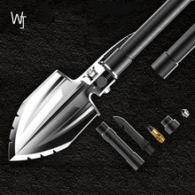 Outdoor Multi-function Manuscript Engineer Shovel Military Field Camping Survival Tool Folding Set