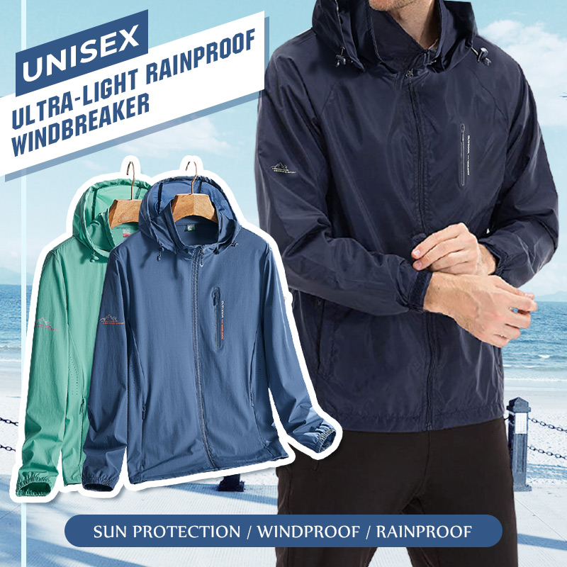 Unisex Ultra-Light Rainproof Windbreaker Men's Sports Jackets Women's Windproof Outdoor Bicycle Sports Quick Dry Drop Shipping