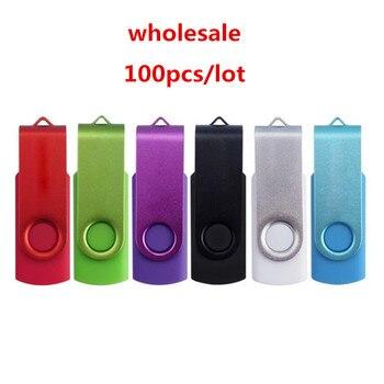 Free LOGO!!! 100PCS/LOT 1GB 2GB 4GB 8GB 16GB 32GB USB Flash Stick Pendrive U Disk USB Flash Drive For Computer