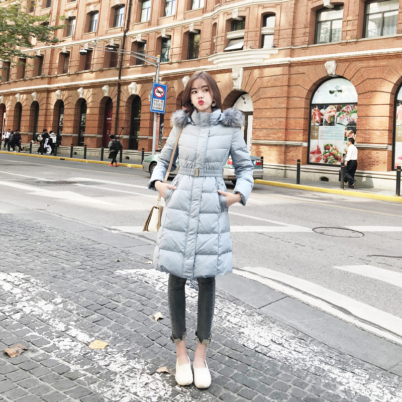 Womens Down Coats With Real Fur Down Parka Winter Jacket Women Clothes 2020 Warm Outwear Jakcets Korean Long Coat LWL1285