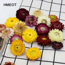 30Pcs High Quality Natural Colorful Chrysanthemum Dried Flower Heads Wedding Flower Centerpieces Dry Flower Preserved Flower