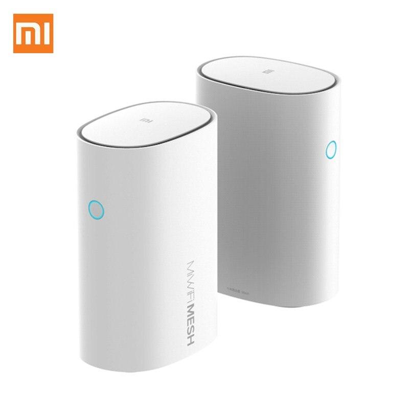 Original Xiaomi Mi Router Mesh WiFi 2.4G 5GHz High Speed 4 Core CPU 256MB AC1300+1000M LAN+1300M Signal Amplifier WiFi Router