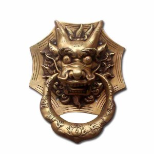 COTOM 1Pcs Large Brass Dragon