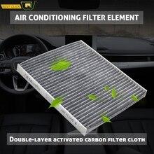 1x воздушный фильтр в салон автомобиля для hyundai Accent Tucson Veloster Kia Forte Rio Rondo Sportage 97133-2E200 97133-2E210 P8790-1F200A