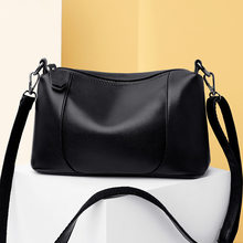 Big Solid Leather Tassel Crossbody Shoulder Bags For Women Messenger Ladies Hand Bag XBQ41-XBQ46