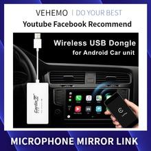 Carlinkit, Android Carplay, Usb ключ, беспроводной, для Apple, Авто, автомобиль, играть, Iphone, Автомобильное Зеркало, ссылка, плеер, wifi, Bluetooth, автомобильная навигация