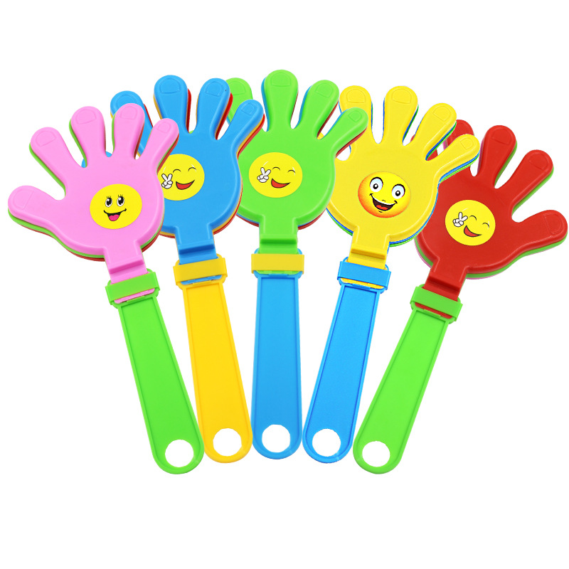 Snowman 8 Mini Hand Clappers Party Favors  Birthday Pinata Prizes Loot