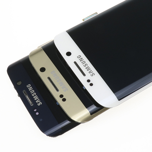 Image 2 - מקורי 5.1 החלפת סופר AMOLED תצוגה עבור SAMSUNG Galaxy s6 קצה G925 G925F G925I LCD Digitizer עצרת עם מסגרת
