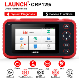 LAUNCH X431 CRP129I OBD 2 Automotive Scanner Four Systems Scanner TPS EPB SAS TPMS Oil Reset OBD2 Scanner Car Diagnostic Tool