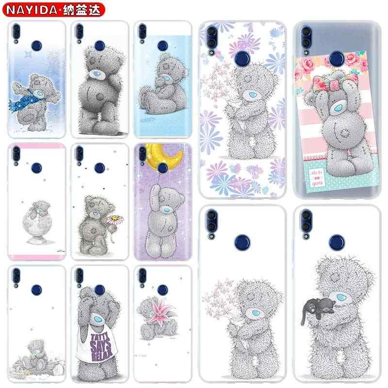 Telefon fall für Huawei Ehre 9 8X 10 20 lite 20i 9a Max Xohop 8a 30 20Pro V30 PLAY3 abdeckung weichen Fällen Tatty Teddy Mir, Sie Tragen
