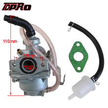 TDPRO 14mm Racing Carburetor Manifold For Honda XR50R CRF50F Z50A Z50R 49cc 50cc 80cc 4 Stroke Mini Trail Moped Scooter ATV Quad