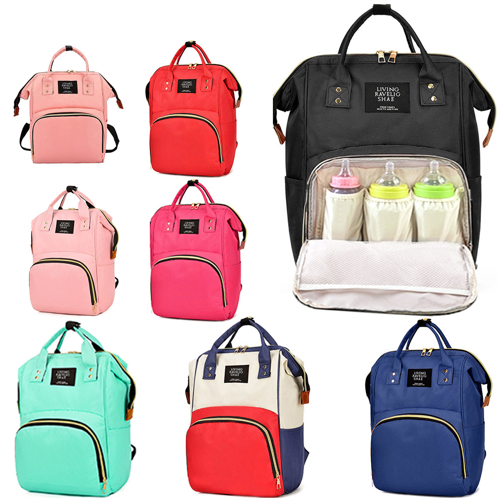 Mummy Bag Maternity Backpack Handbags For Mom Baby Diaper Nappy Bag For Stroller Nursing Bag Mommy Handbag Travel Bags