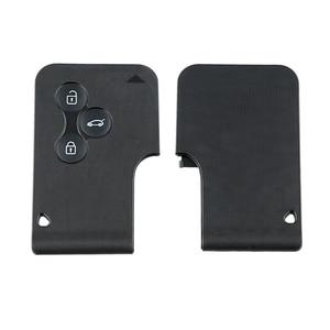 Image 3 - 3 버튼 Renault Megane 용 Smart Remote Key Keyless Fob 2003 2004 2005 2006 2007 2008 PCF7947 칩 포함 433Mhz Original Key