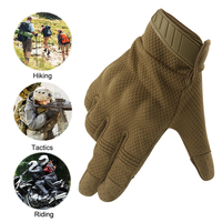 Breathable Full Finger Touch Screen Motorcycle Gloves Summer Tactical Military Gloves Racing Riding Cycling Motocross Gloves 3