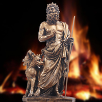 Hades Hades Retro Decoration Resin Greek God Character Model Sculpture Warrior Knight Decoration Bar Home Decoration