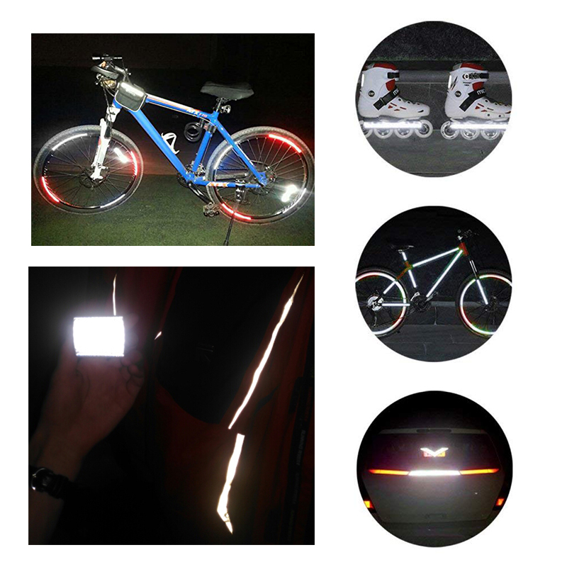 Reflec G1P5 1pc Bicycle Reflective Sticker Mountain Cycling Wheel Tape Stickers