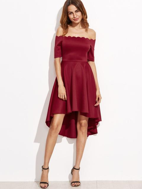 Women Sexy Off-Shoulder Party Dress