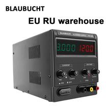 Power-Supply Current-Stabilizer Laboratory From-Eu-Ru 30v 10a Bench-Source Digital BLAUBUCHT