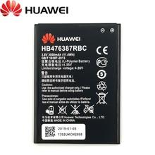 цена на Huawei 100% Original 3000mAh HB476387RBC Battery For Huawei Honor 3X G750 B199 Phone Latest Production Battery+Tracking Number