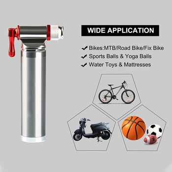 Mini vélo leinflateur montagne Portable Mini pompe accessoires de vélo léger