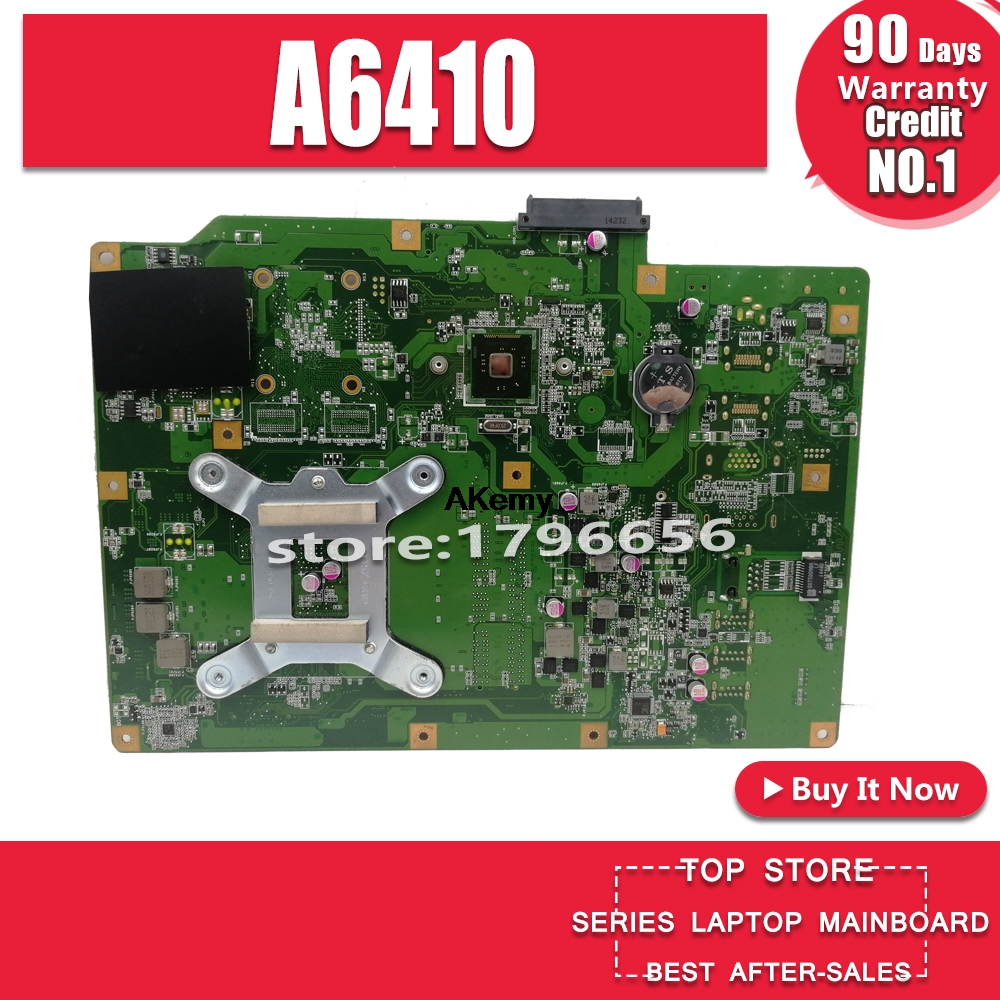 A6410 All-in-one motherboard For ASUS A6410 A641 Mianboard 100% Test Ok image