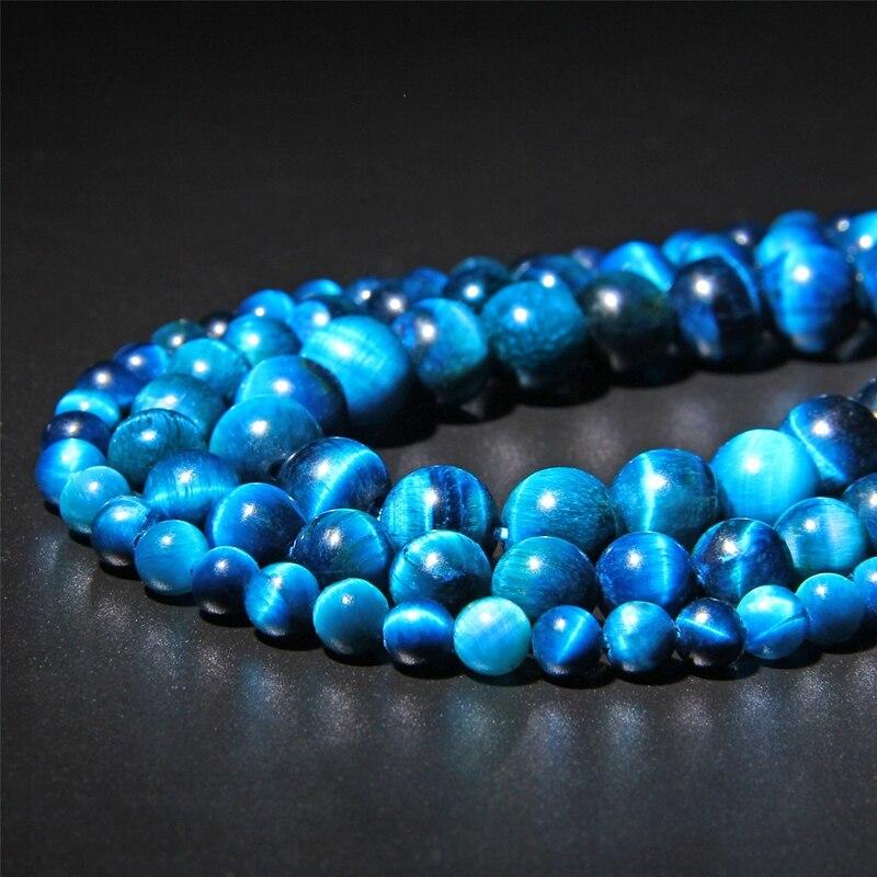 Cuentas de piedra Natural azul real Ojo de Tigre cuentas redondas para la fabricación de joyas 15 pulgadas tamaño pico 6.8.10.12mm joyería que hace la pulsera 1W 265nm UVC LED lámpara perlas para la desinfección UV equipo médico 275nm SMD4545 Deep ultravioleta LG Chip 5-9V 150mA de Corea