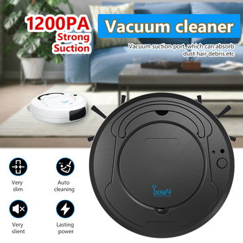 Multifunctional Robot Vacuum Cleaner , 3-In-1 Auto Rechargeable Smart Sweeping Robot Dry Wet Sweeping Vacuum Cleaner Home Robot 4 in 1 multifunctional robot vacuum cleaner vacuum sweep sterilize air flavor lcd remote control timing setting self charging