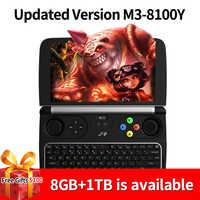 GPD-Gamepad Original WIN 2 para PC Intel, Tablet m3-8100y, Quad Core, 6,0 pulgadas, 1280x720, Windows 10, 8GB/256GB, SSD