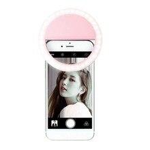 Продукт для селфи светодиодный кольцевой вспышка заполняющая Ночная вспышка свет клип фото камера для сотовый телефон Смартфон Автоспуск красота свет