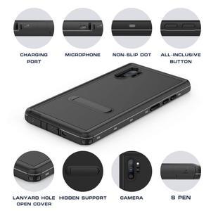 Image 2 - 100% Étanche étui pour samsung Note 10 S8 S9 S10 Plus Sous Leau Natation étuis pour samsung Note 9 10 Plus avec Support