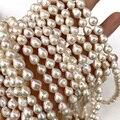 Высокое качество Подвески пресноводные жемчужные бусы натуральный барочный жемчуг для изготовления ювелирных изделий DIY ожерелья, браслет...