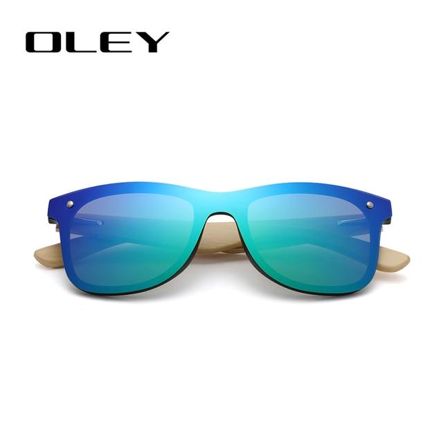 OLEY-lunettes de soleil en bois de bambou naturel | Lunettes polarisantes pour hommes, lunettes de mode originales en bambou Oculos de sol, logo personnalisé