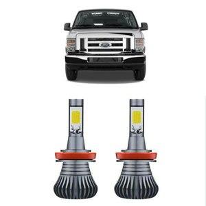 Car accessories Led two-tone Fog light Lamp Bulb For Ford crown victoria e150 e250 e350 edge escape escort