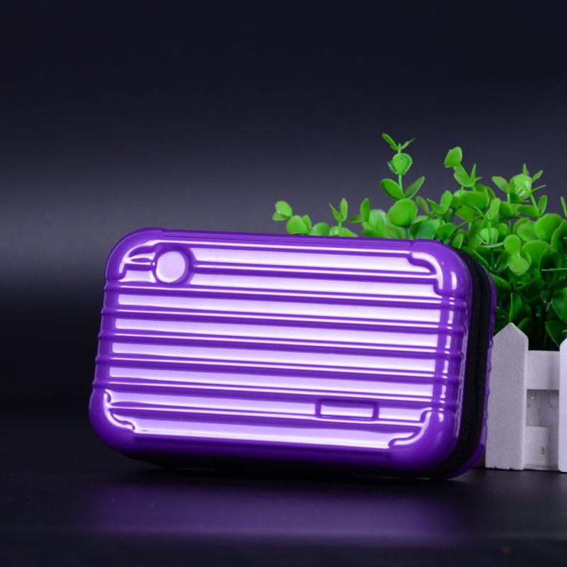 Hot Luggage Design Travel Cosmetic Bags Makeup Organizer Case Brushes Lipstick Toiletry Storage Box K2