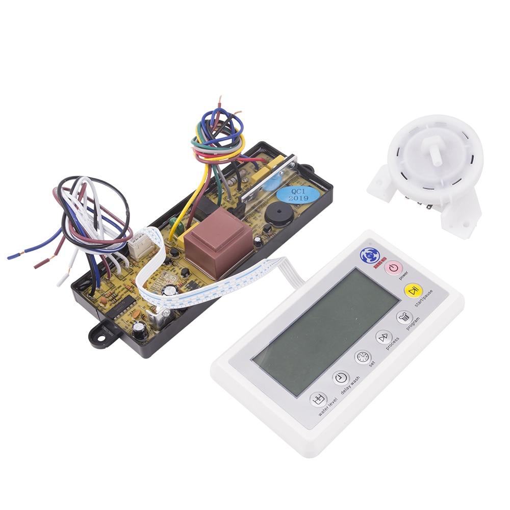 Universal Full Automatic Washing Machine Computer Control Board LED Display Power Module Panel With Water Liquid Level Sensor