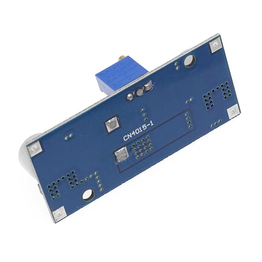 5A XL4015 DC-DC 4-38 فولت إلى 1.25-36 فولت 24 فولت 12 فولت 9 فولت 5 فولت تنحى قابل للتعديل وحدة امدادات الطاقة LED شاحن ليثيوم مع بالوعة الحرارة