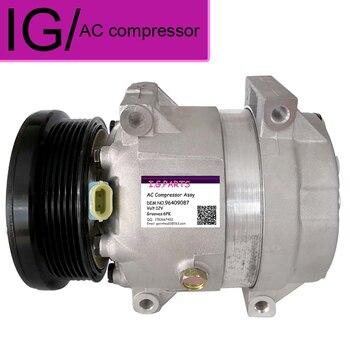 AC Compressor For Chevrolet Epica 2.0 D 2.5 2005-2017 Air Conditioner Compressor 96409087 96905493