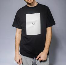 mens t shirts 100% cotton merch а4 paper print casual fashion men's o-neck tops men T-shirt short sleeve men мерч a4 tshirts