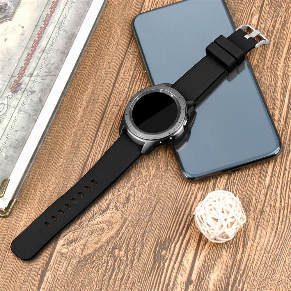 20mm Sport Silicone Watchband for Samsung Galaxy Watch 42mm Active2 40mm 44mm Gear S2 Active 2 Strap Band for Huami Amazfit Bip