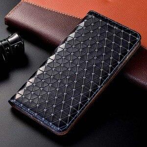 Image 1 - แม่เหล็กธรรมชาติของแท้หนังพลิกกระเป๋าสตางค์โทรศัพท์สำหรับ Huawei P20 P30 LITE PRO P 20 30 64/128/256 GB