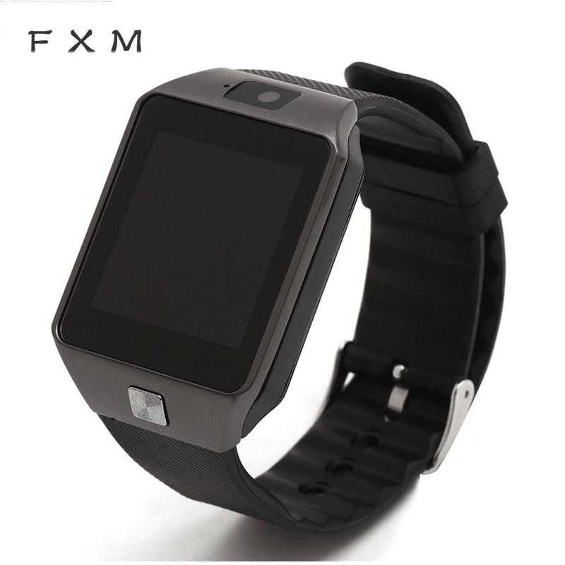 The Mens' Watches Men Smart Watch Bluetooth Smartwatch Dz09 Wearable Devices Android Call SIM TF Men Watch Women Bracelet Watch