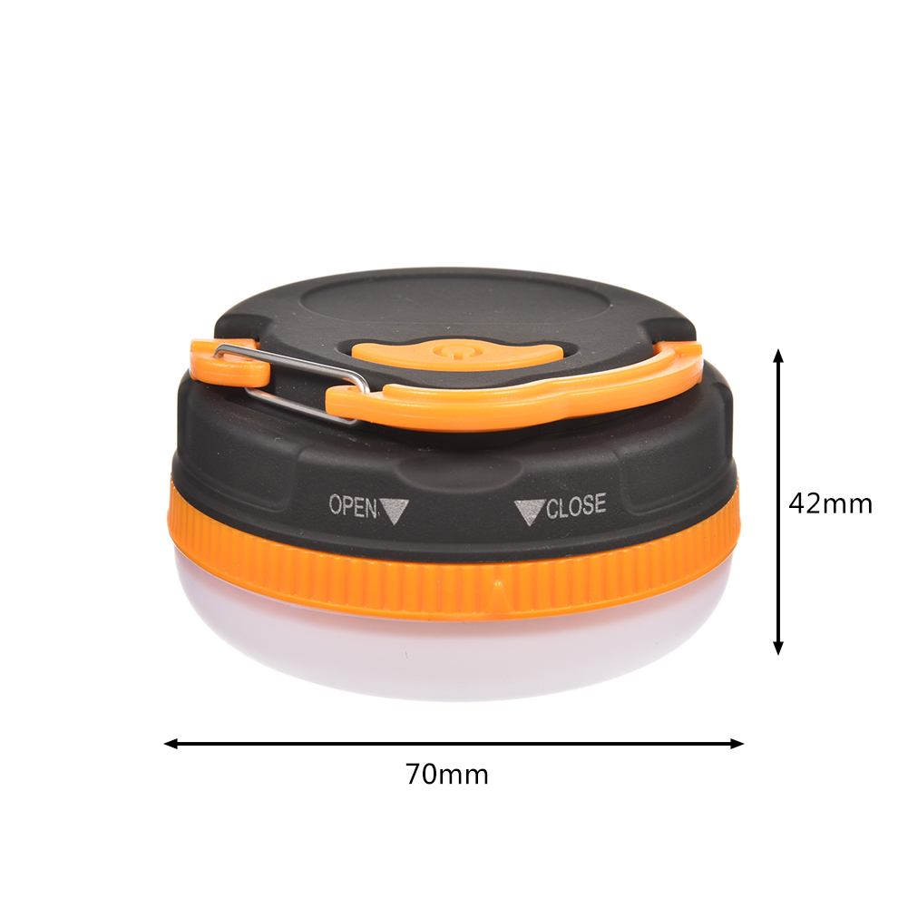 Ha5067f6ec2804f818a996f30f21bdc27X - Firya Super Bright Waterproof Portable Camping Lantern Night Light 3W 5 Modes LED Camping Outdoor Emergency Lamp Warm White