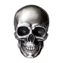 Hot Sell Personality Bright skull Car Stickers Accessories Motorcycle Sunscreen Waterproof PVC 14cm *10cm