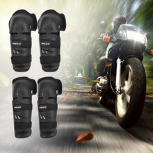 BSDDP 4Pcs Drop Resistant Elbow Pads Kneepads Set Motorcycle Protector