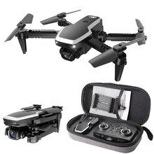 S171 Pro Fpv Mini Drone 4k HD podwójny aparat 2 4G zdalnie sterowany Quadcopter wysokość trzymaj silnik bezrdzeniowy Wifi składane drony z kamerami Dron cheap Z tworzywa sztucznego Metal CN (pochodzenie) Fpv Mini Drones 4k HD Dual Camera Drone Quadcopter With Cameras Ready-to-go
