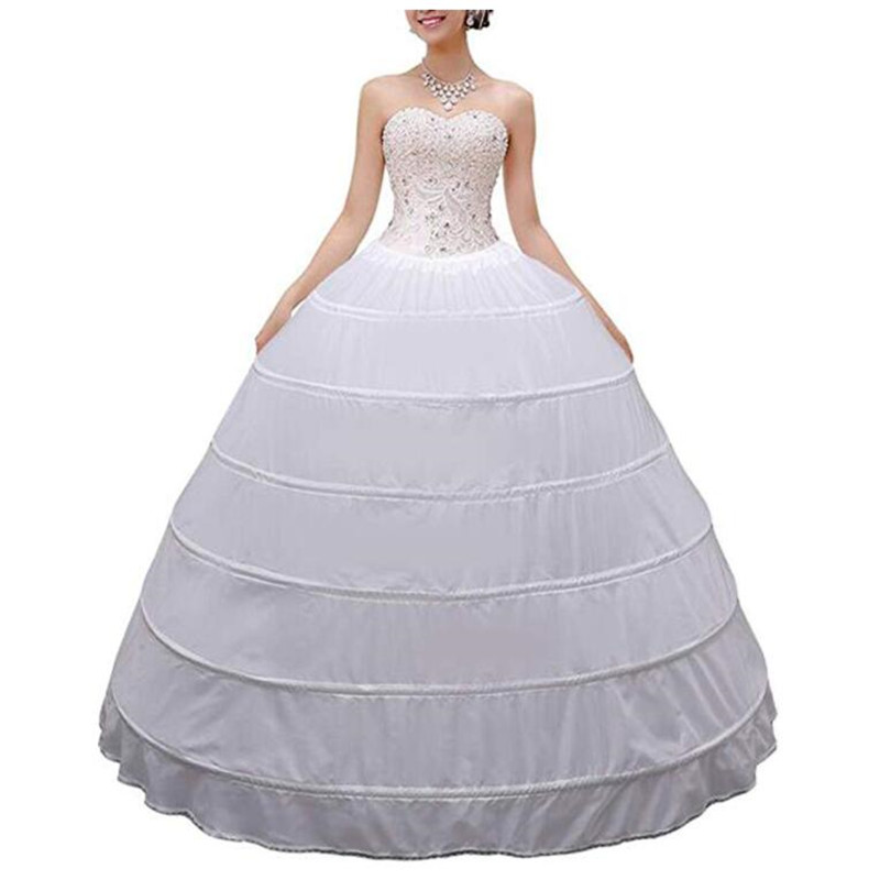 Wedding Dresses Bridesmaid Dresses Large Party Host Dresses Petticoats Prom Dresses Dresses 6-ring Petticoats