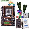 Скидка mobo HUANANZHI deluxe X79 LGA2011 материнская плата с CPU E5 2680 C2 кулер RAM 32G (4*8G) 1 ТБ 3 5 'SATA HDD GTX750Ti 2G