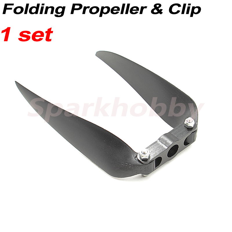 1set Folding Propeller Clip 5MM/6MM Match With KMP Folding Propeller For RC Airplane Racing Drone Fixed-wing DIY Accessories