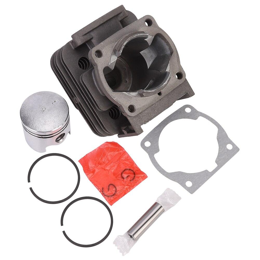 2-stroke cortador de grama trimmer cilindro pistão acessório kit apto para 40-5/44-5/430/520 acessórios serra de corrente cortador de grama peças